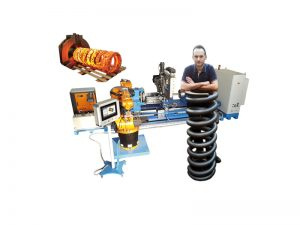 WIM-H CNC - lahte coilers for hot coiling
