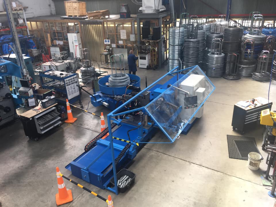 New WIM-14 CNC WCS 5AX installed in New Zealand
