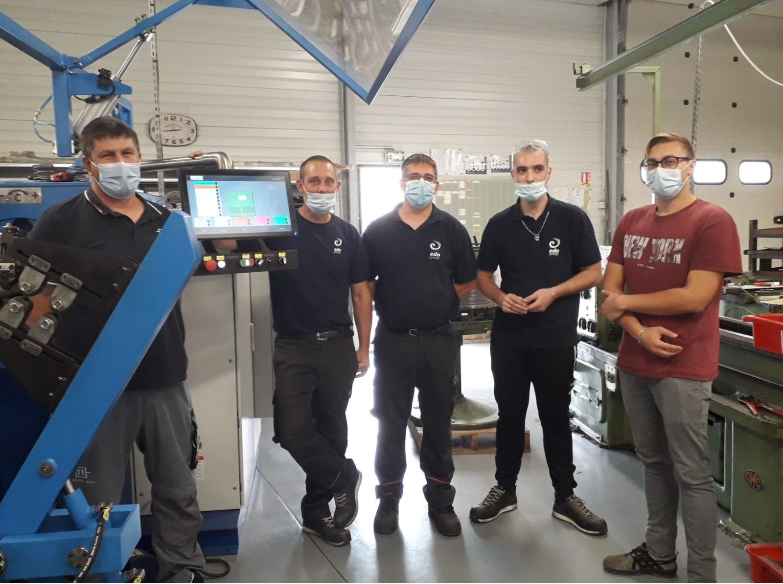Brand new WIM-14 CNC WCS 5AX installed